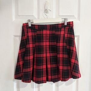 H&M Tartan Mini Skirt